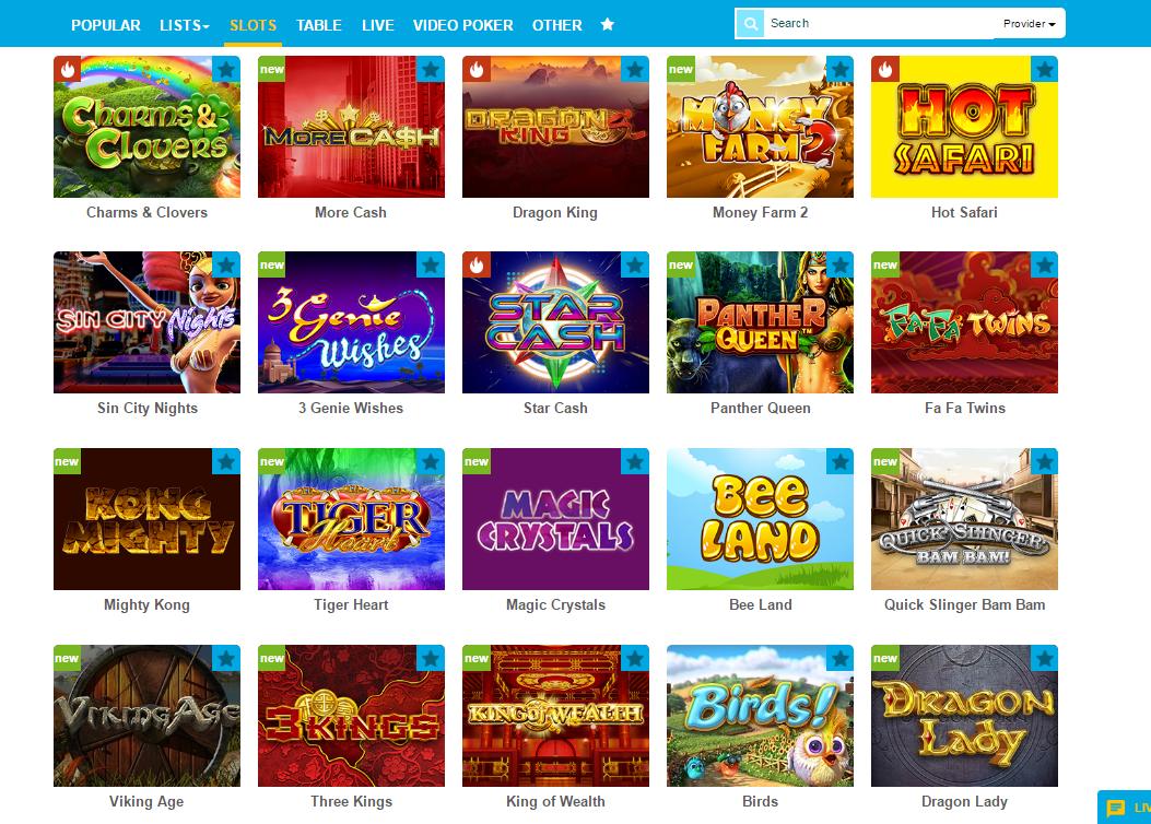 casino ventura slot games