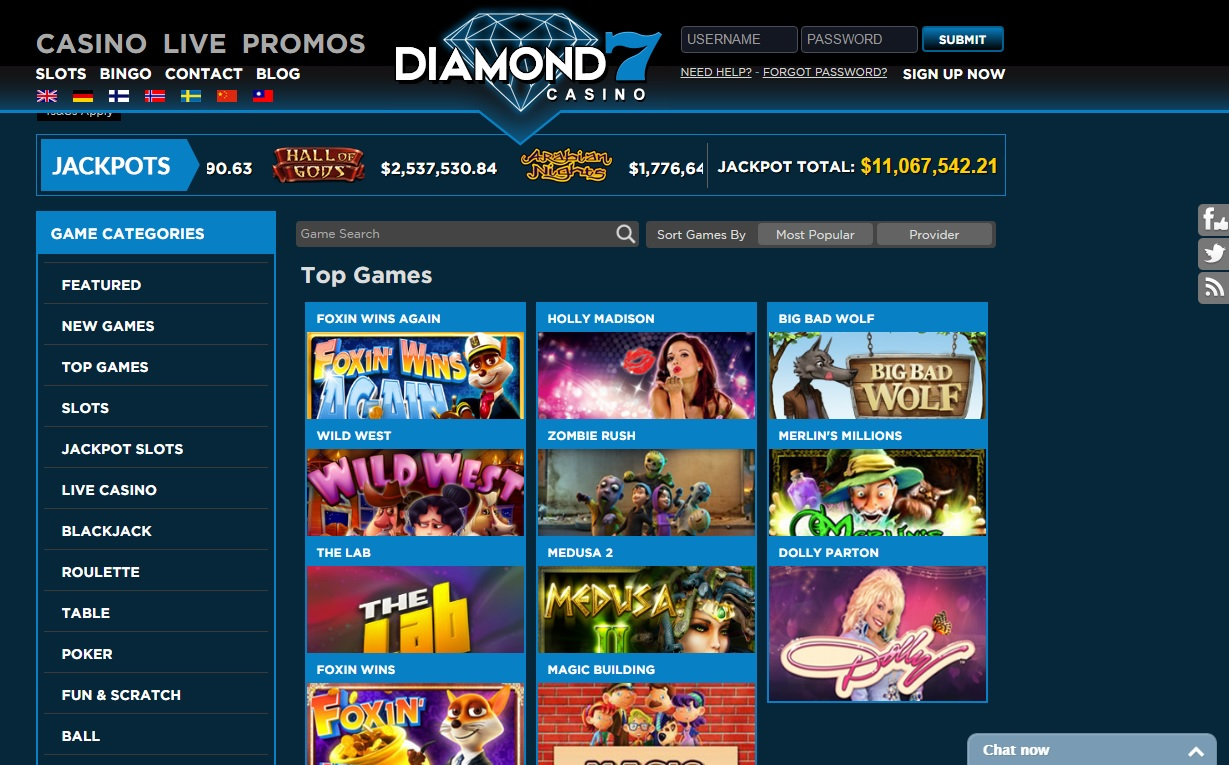 diamond7 casino - slots games