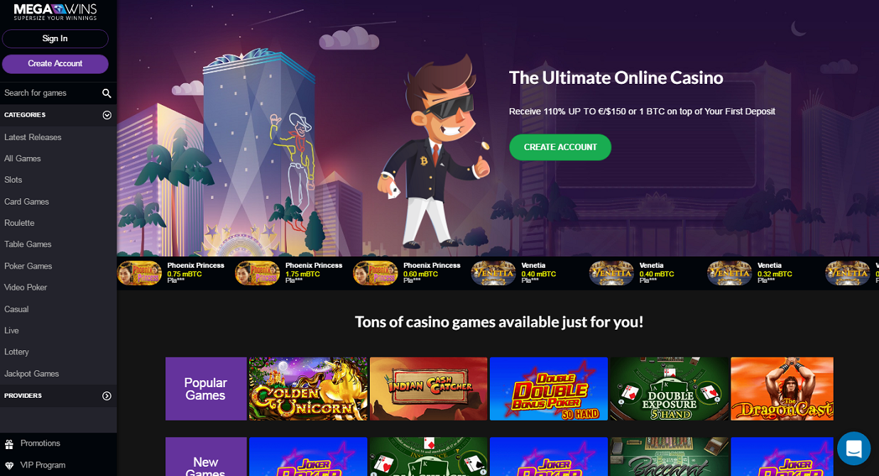 megawins casino - the ultimate online casino