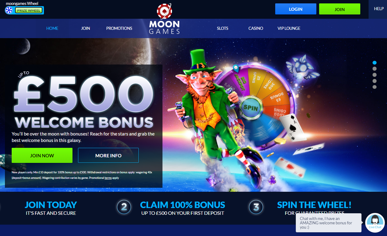 moon games casino 500 welcome bonus