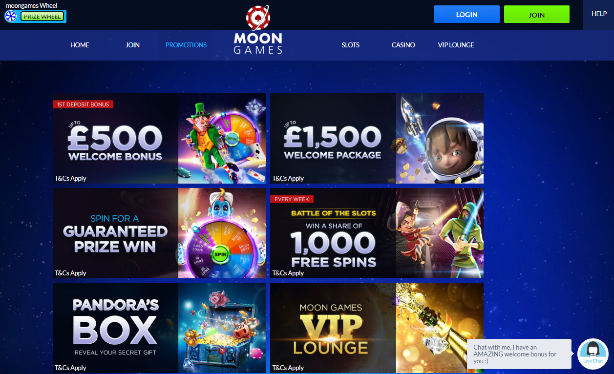 moongames casino promotions