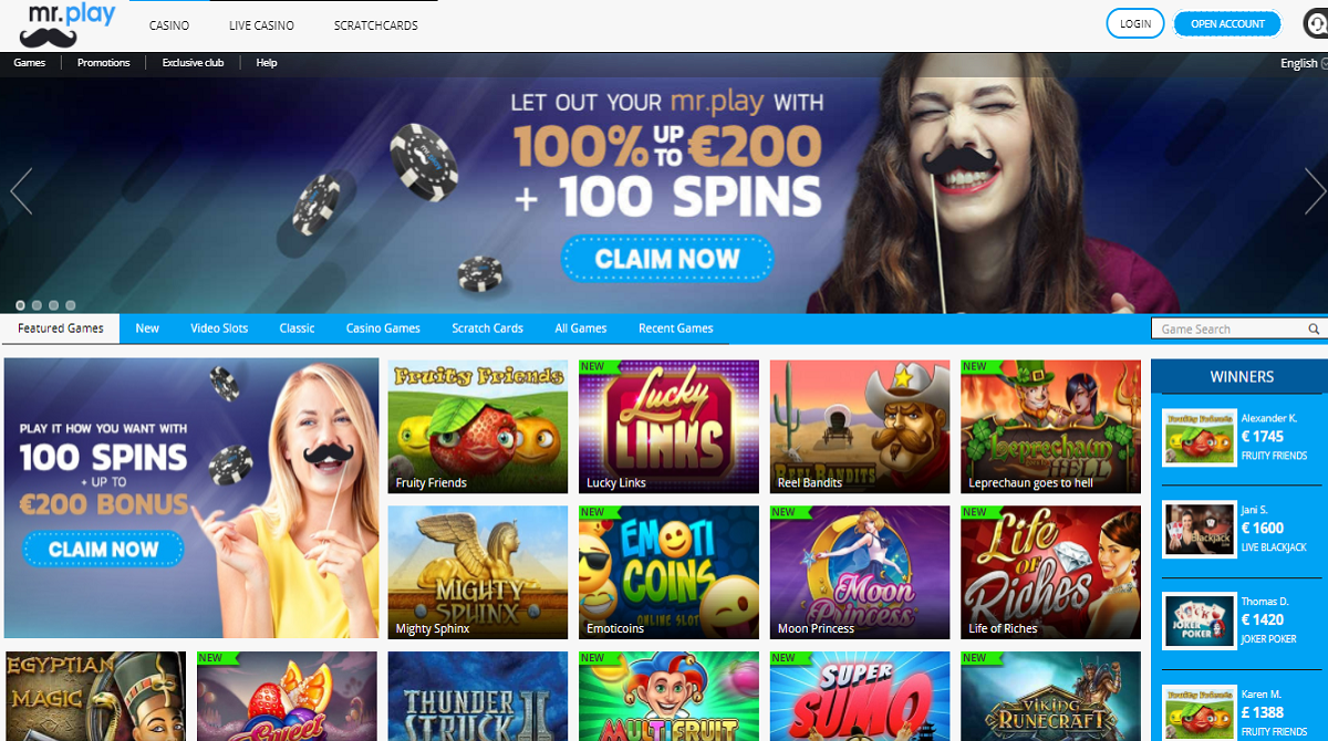 mr play casino - mr play homepage