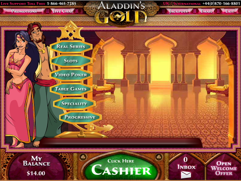 aladdins gold casino bonus 200% on every deposit for 7 days