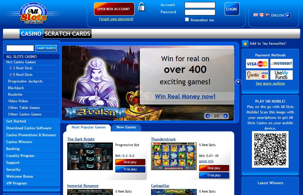 all slots casino instant play