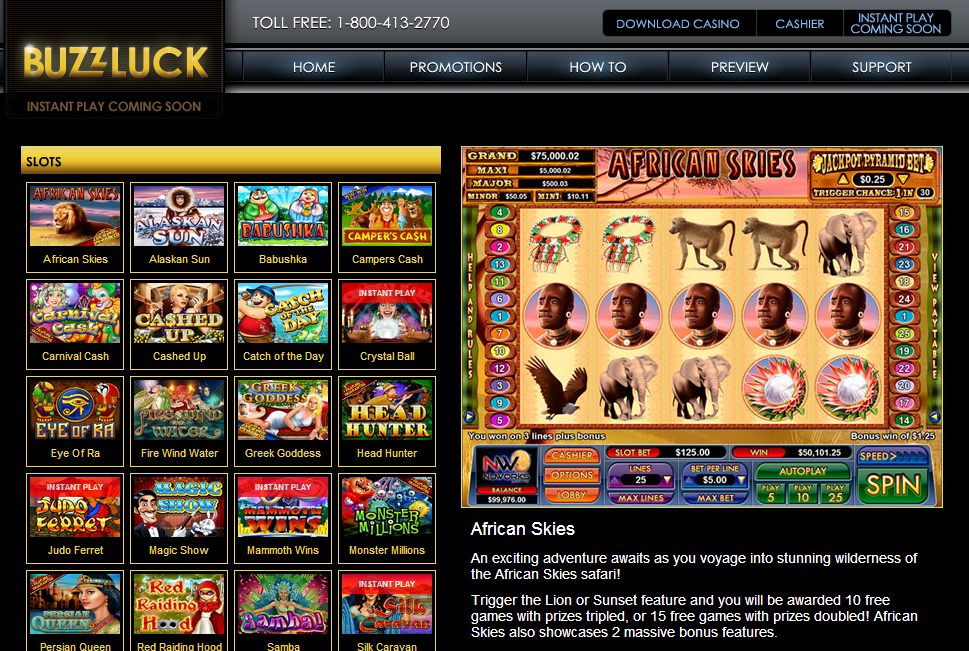 Buzzluck Casino Review – Buzzluck Online Casino