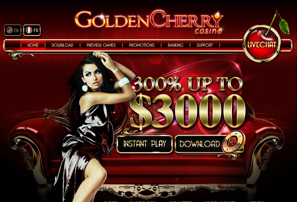 golden cherry casino 300% bonus up to $3000