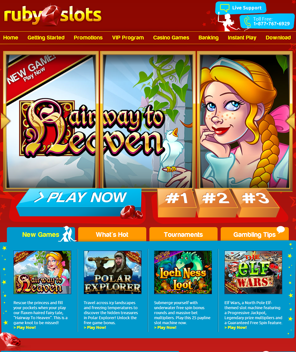 Ruby Slots Casino Mobile