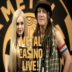 Metal Casino Live - Metal Casino - Marielle Tengstrom and Ryan Roxie