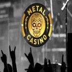 Metal Casino Logo - New Online Casino