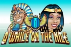 a-while-on-the-nile-slot-logo