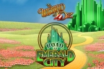 Wizard of Oz Road to Emerald City - New WMS Slot Logo