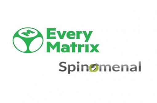 EveryMatrix Partners with Spinomenal - Logos