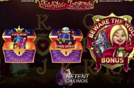 Fairytale Legends: Red Riding Hood Slot Screencap