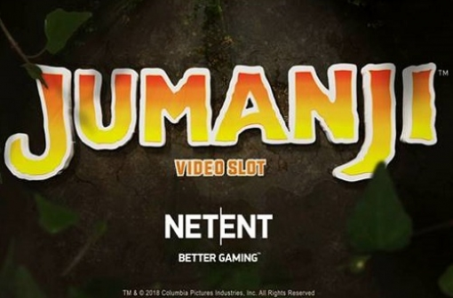 Jumanji Slot - New Game from NetEnt