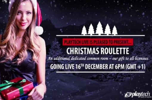 Live Christmas Roulette - Playtech Live