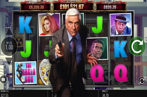 Naked Gun Slot - Blueprint Gaming