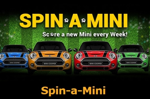 Spin-A-MINI Promotion at SkillOnNet Casinos