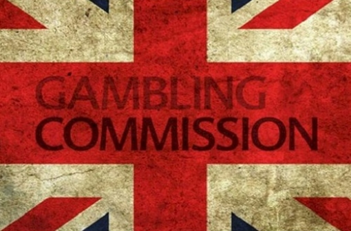 UK Gambling Commission Logo on Union Jack